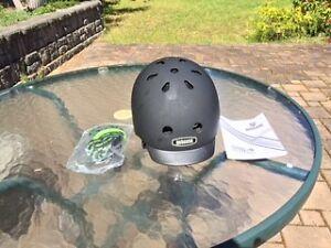 """Bike Helmet - """"Blackish"""" Model by Nutcase"""