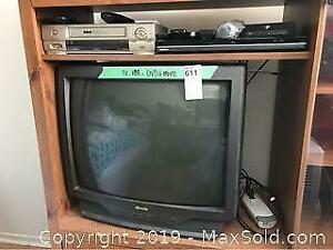 VCR, DVD, TV and More B