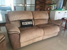 Bourbon suite 3 armchairs & two seater all recliners Jacobs Well Gold Coast North Preview