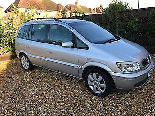 Vauxhall Zafira 1.6lt 129k miles looks great