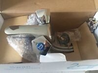 Chrome Monobloc Basin Mixer - Top Quality - Brand New & Boxed