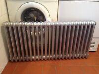 3 column radiator 1020mm x 500mm x 10mm gun metal