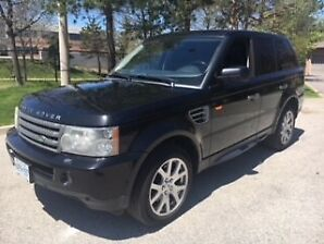 2007 Range Rover Sport HSE/$7,990/SAFETY TO BE ORDERED W/DEPOSIT