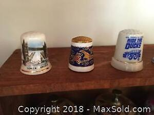 Trinket Boxes and Thimbles B