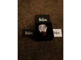 Beatles watch that is in pristine condition still in the original box