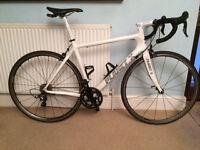 Planet X Pro Carbon Road Bike - White