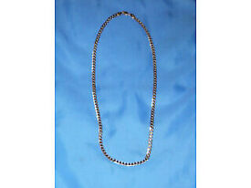 9ct White gold neck chain, 9g