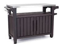 Keter Unity XL BBQ Garden Side Table