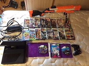 xbox 360 500gb with games in great condition