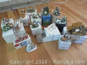 Collection of Mice Figurines. A f