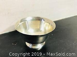 Vintage Authentic Tiffany and Co. Makers Sterling Silver Bowl