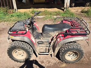 ATV FOR SALE..LOW KMS!
