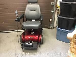 Golden Electric Battery Charged Wheel Chair