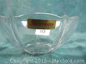 Nachtmann 24% Lead Crystal Bowl Venus Discontinued NEW