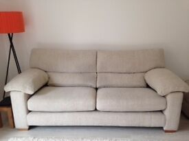 TANNER- 2 & 3 SEATER SOFA + FOOTSTOOL