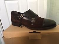 Mens Zara Double Monk Shoes For Sale
