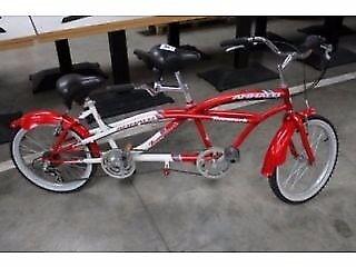 Tandem bike ammaco like new