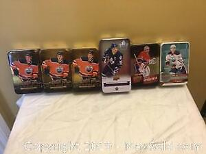 Hockey Collectable Tins
