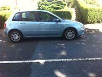 Fiat Stillo 1.6 2004 Petrol 5 Door Blue Hatch Back