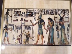 Authentic Egyptian Painting Downtown-West End Greater Vancouver Area image 2
