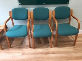 Office chairs x4