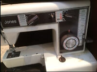 Jones/John Lewis Sewing Machine Model VX560 Portable with Case £25