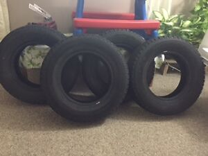 ONCE USED WINTER TIRES