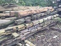 Reclaimed Oak Beams