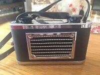 Late 1940s Portable Radio Receiver