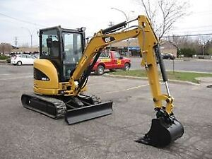 small mini excavator wanted for 2-3 hours