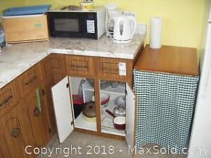 Small Kitchen Appliances, Bread Box And More B