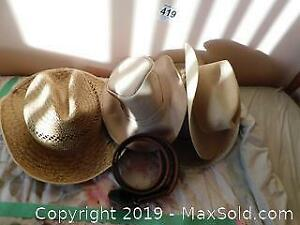 Western Hats And Belt A