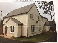 Semi detached3/4 bedroom family home in Copplestone