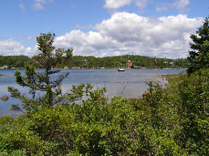 Great Lot on a Calm Ocean Inlet - Lots for sale Prospect Bay