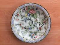 S Hancock and Sons - Corona Ware plate, Rosetta Pattern 5342. for sale  Peebles, Scottish Borders