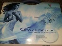 Gymbody 8 stomach and bottom styler by slender tone hardly ever used still in original packaging