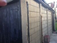 Free Garage 16ftx 8ft concrete sectional panels - collector to dismantle