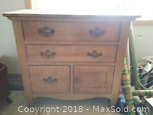 Antique Wash Stand C