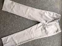 Next Smart Tailored grey trousers