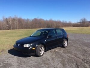 2002 Volkswagen Golf GLS Berline