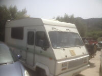 TALBOT 300 EXPRESS ELDISS 4-BERTH MOTORHOME 1 year MOT All accessories included