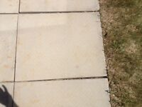 30 patio stones used 24x30 in good condition
