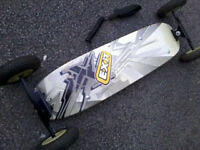 Exit Mountain board, All terrain board, Skateboard style Snowboard trainer! kite board, £25