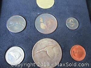 Canada 1867- 1967, Silver Dollar, Flying Goose Coins Set. Centenary Of Canadas Confederation.