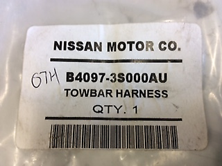 nissan pulsar b17 genuine towbar wiring harness new part | other parts &  accessories | gumtree australia ipswich city - rosewood | 1202974907