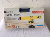 Power fix Laser Spirit level.