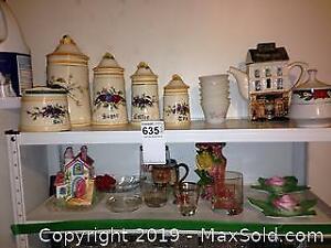 Food Storage, Tea Pot, and More A