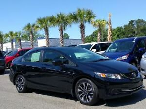 2015 Honda Civic Ex Sedan 38/weekly