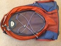 Tumi Backpack with handle extension