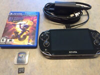 Playstation Vita and 2 games for Sale